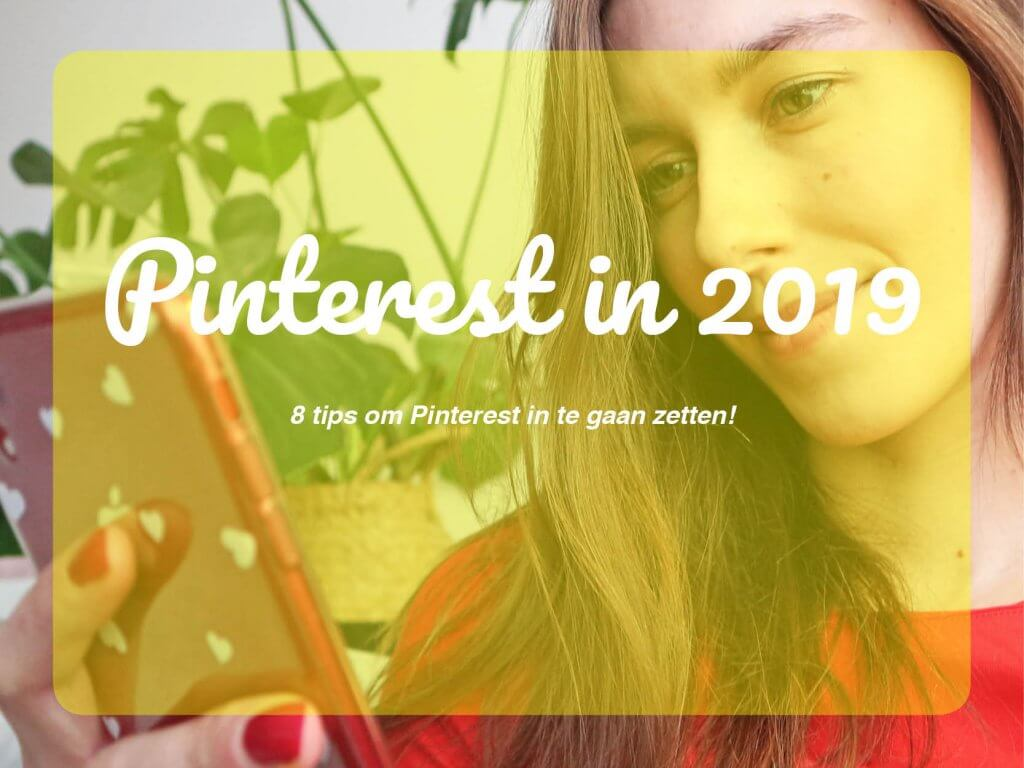 Pinterest TIPS inzetten 2019