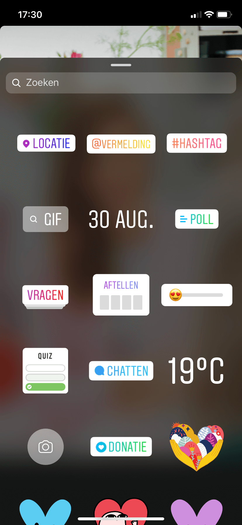 Instagram stories maken